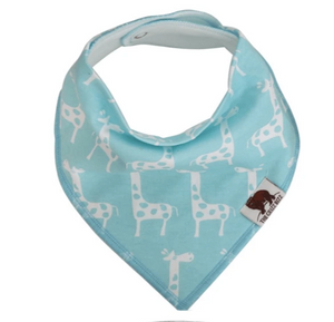 Organic Cotton Bandana Bib -Giraffe - Elias's Journey