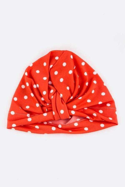 Polka-Dot Headwrap - Elias's Journey
