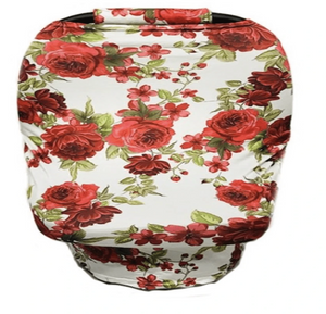 Rose Design Car Seat Cover - Elias's Journey