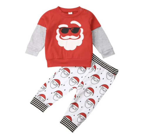 Santa's Nursery Two Piece Pajama Set - Elias's Journey