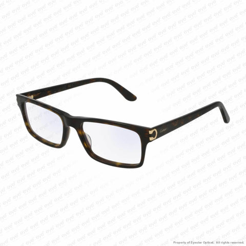 Cartier - Ct0005O Havana (002) / 53-17-145 Eyeglasses