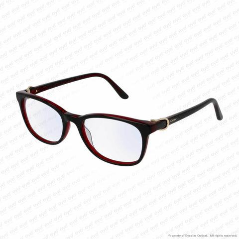 Cartier - Ct0008O Black (001) / 52-18-140 Eyeglasses