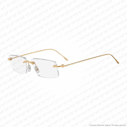 Cartier - Ct0070O 18 Carat Rose Gold (003) Eyeglasses