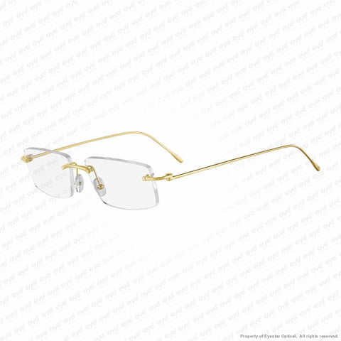 Cartier - Ct0070O 18 Carat Yellow Gold (001) Eyeglasses