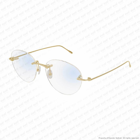 Cartier - Ct0094O 18 Carat Yellow Gold (002) Eyeglasses