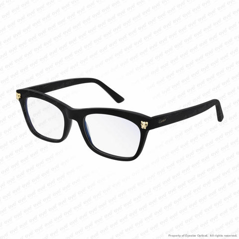Cartier - Ct0144O Black & Gold (001) Eyeglasses