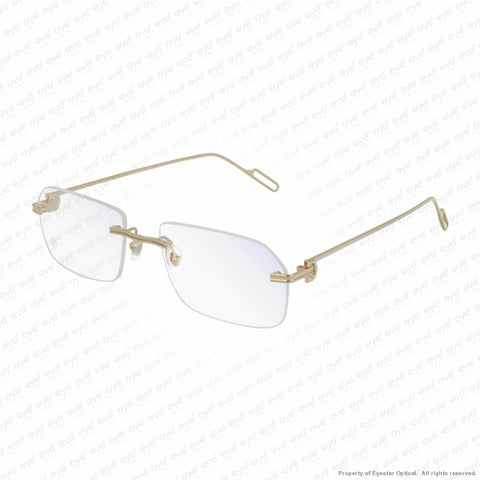 Cartier - Ct0162O Gold (004) Eyeglasses