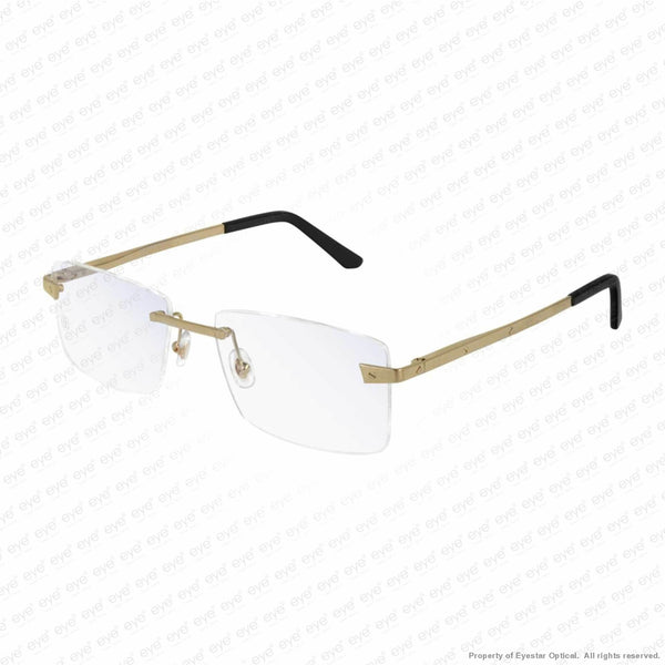 Cartier - Ct0167O Brushed Gold (004) Eyeglasses