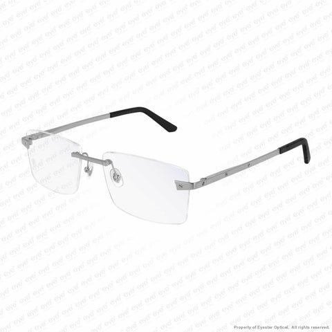 Cartier - Ct0167O Brushed Silver (005) Eyeglasses