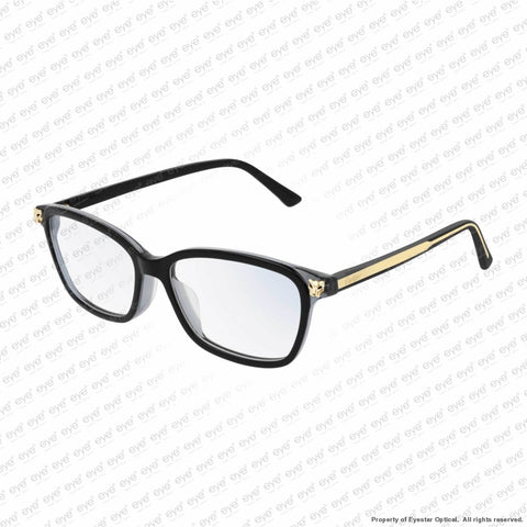 Cartier - Ct0206Oa Black & Gold (001) Eyeglasses