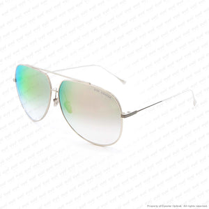 Dita - Condor Silver/grey Gradient Gold Flash Sunglasses