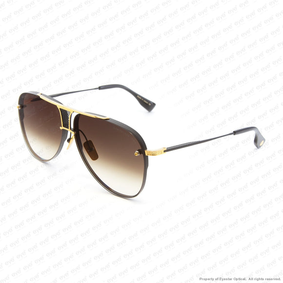 Dita - Decade Two Black & Gold/brown Gradient Sunglasses