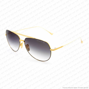 Dita - Flight 004 Black & Yellow Gold/grey Gradient Sunglasses