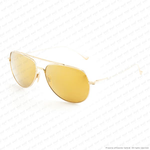Dita - Flight 004 Gold/dark Brown Gold Flash Polarized Sunglasses