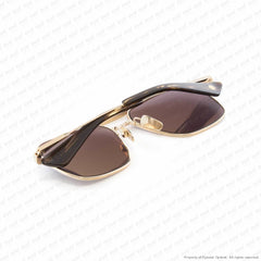 Dita - Flight Seven White Gold/grey Sunglasses