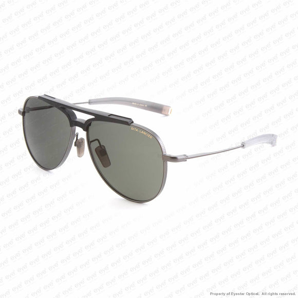 Dita-Lancier - Lsa-401 Gunmetal/green G12 Dita-Air Lens Sunglasses
