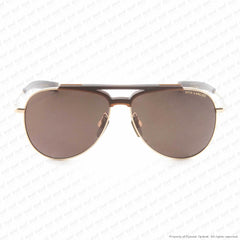 Dita-Lancier - Lsa-401 White Gold & Black/brown Polarized Dita-Land Lens Sunglasses
