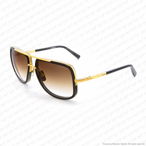 Dita - Mach One Black Gold/brown Gradient Sunglasses