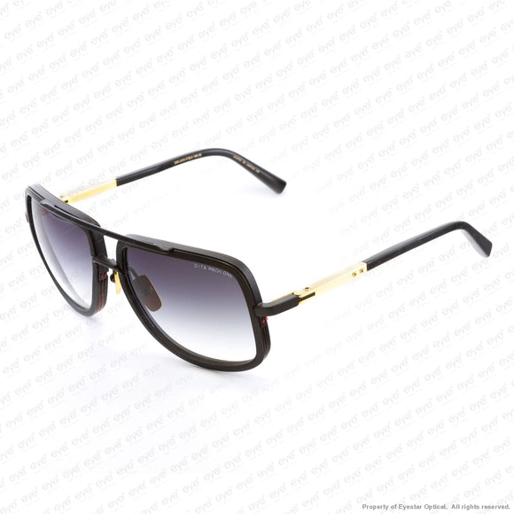 Dita - Mach One Matte Black Gold/dark Grey Gradient Sunglasses