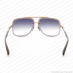 Dita - Mach One Transparent Grey Rose Gold/grey Sunglasses