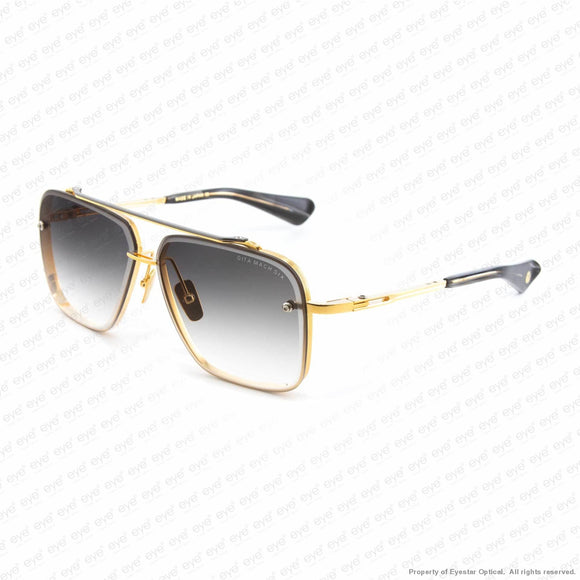 Dita - Mach Six Gold Black/grey Gradient Sunglasses