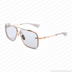 Dita - Mach Six Rose Gold Black/grey Sunglasses
