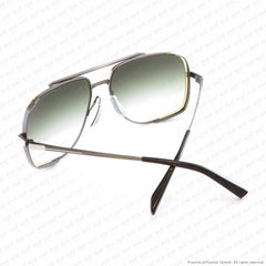 Dita - Midnight Special Antique Silver/green Gradient Sunglasses