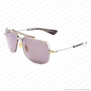 Dita - Symeta-Type 403 Black Iron & Gold/grey Sunglasses