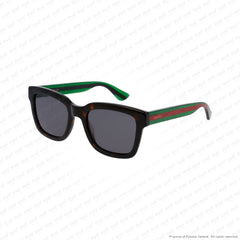 Gucci - Gg0001S Havana Green/grey (003) Sunglasses