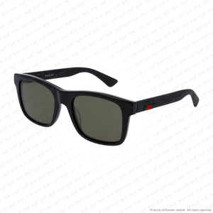 Gucci - Gg0008S Black/green (001) Sunglasses