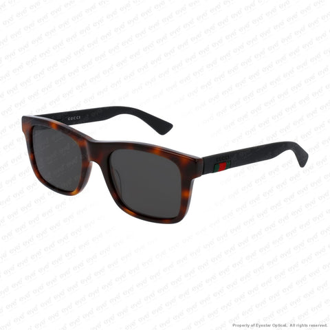 Gucci - Gg0008S Havana Black/grey Polarized (006) Sunglasses