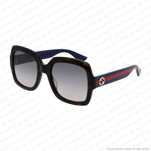 Gucci - Gg0036S Havana Blue/brown Gradient (004) Sunglasses