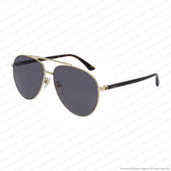 Gucci - Gg0043Sa Gold & Havana/grey (002) Sunglasses