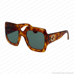 Gucci - Gg0053S Havana/green (002) Sunglasses