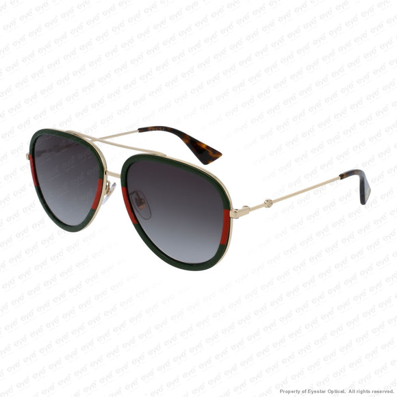 Gucci - Gg0062S Green Red & Gold/green (003) Sunglasses