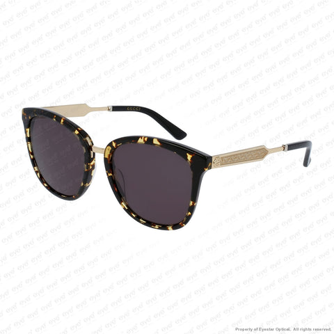 Gucci - Gg0073S Havana Gold/grey (002) Sunglasses