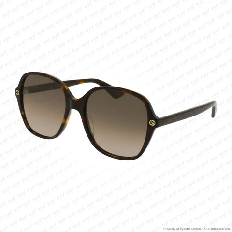 Gucci - Gg0092S Havana/brown Gradient (002) Sunglasses