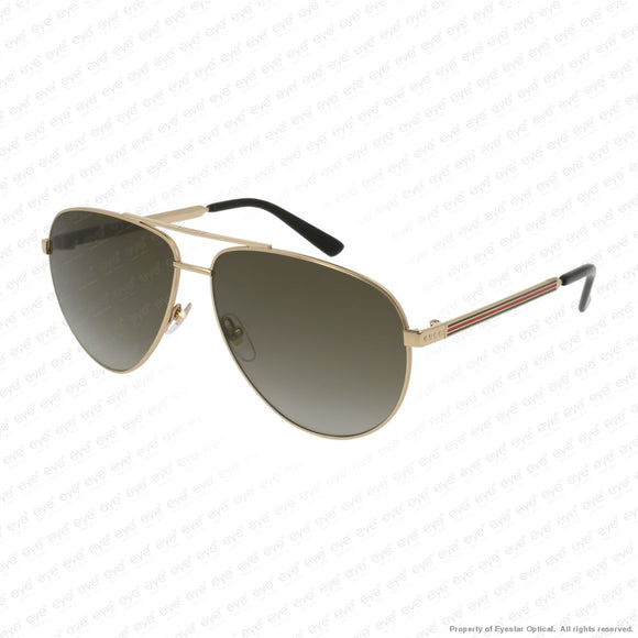 Gucci - Gg0137S Gold/brown Gradient (001) Sunglasses