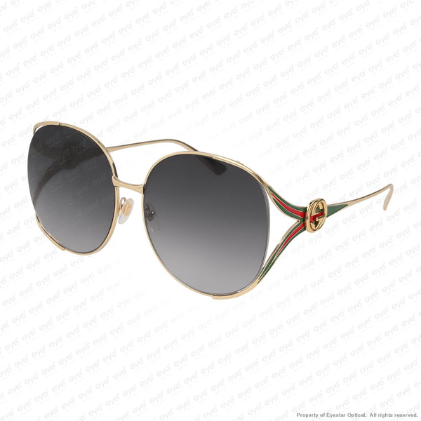 Gucci - Gg0225S Gold/grey Gradient (001) Sunglasses