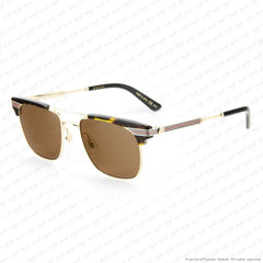Gucci - Gg0287S Havana & Gold/brown (003) Sunglasses