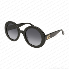 Gucci - Gg0319S Black/grey Gradient (001) Sunglasses