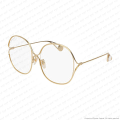 Gucci - Gg0362S Gold/transparent (001) Sunglasses