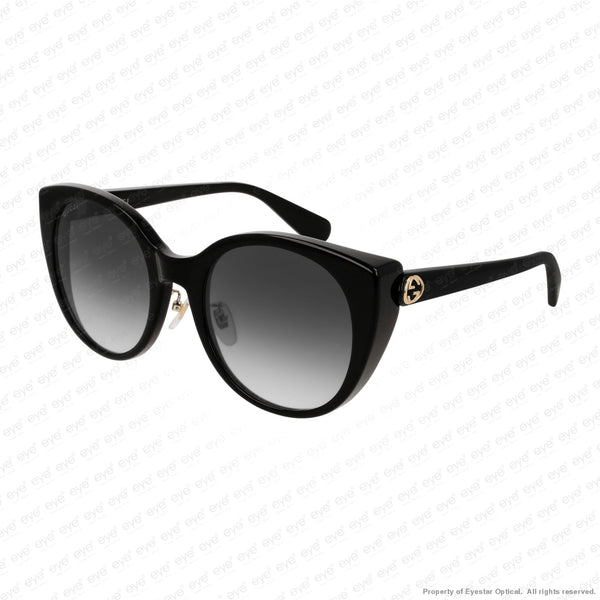 Gucci - Gg0369S Black/grey Gradient (001) Sunglasses
