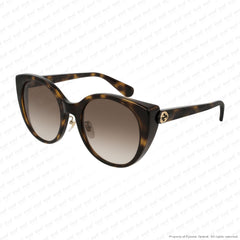Gucci - Gg0369S Havana/brown Gradient (002) Sunglasses