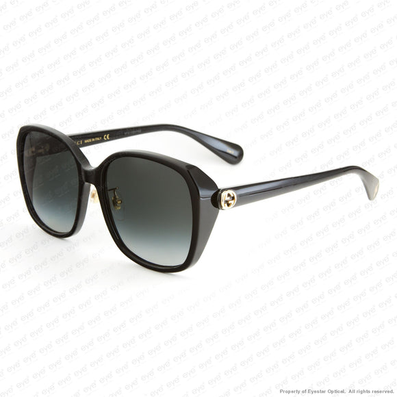 Gucci - Gg0371Sk Black/grey Gradient (001) Sunglasses