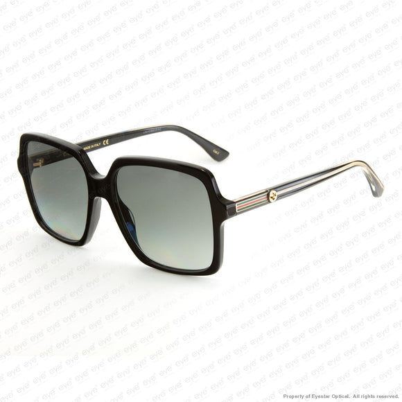 Gucci - Gg0375S Black/grey Gradient (001) Sunglasses