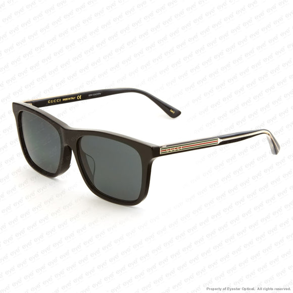 Gucci - Gg0381Sa Black/grey (001) Sunglasses