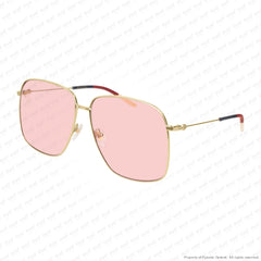 Gucci - Gg0394S Gold/pink (004) Sunglasses