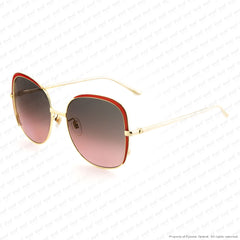 Gucci - Gg0400S Red & Gold/grey Gradient (003) Sunglasses
