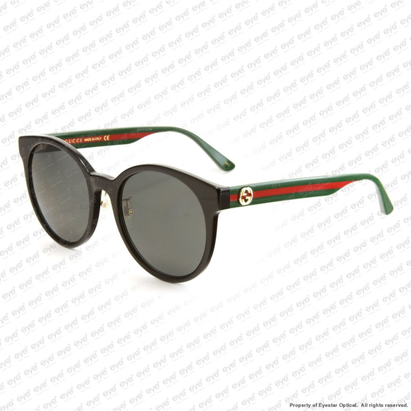 Gucci - Gg0416Sk Black Green Red/grey (002) Sunglasses